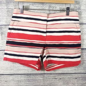 Ann Taylor Factory signature striped shorts size 4